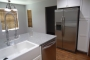 Custom kitchen remodel in Phoenix with antique white sink